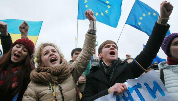 Ukrajinští studenti - Sputnik Česká republika