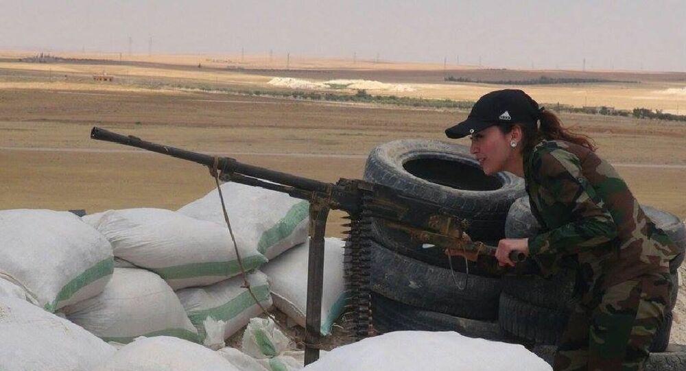 Syrská děvčata jdou do války s IS