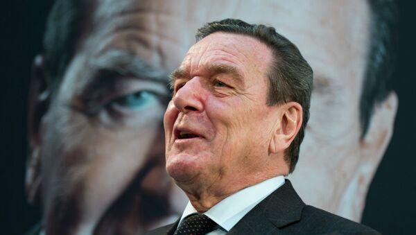 Gerhard Schröder - Sputnik Česká republika