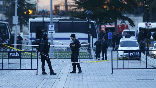Výbuch v Istanbulu - Sputnik Česká republika