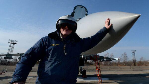 Letecký pluk v Přímoří dostal stíhačky Su-35S - Sputnik Česká republika