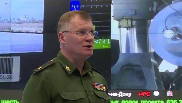 Oficiální mluvčí ruského ministerstva obrany, generálmajor Igor Konašenkov - Sputnik Česká republika