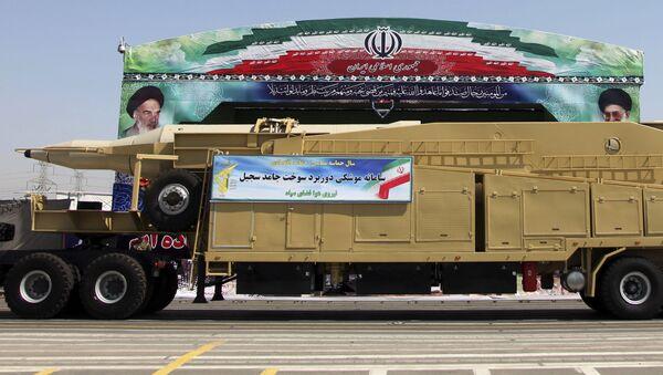Íránská balistická raketa - Sputnik Česká republika