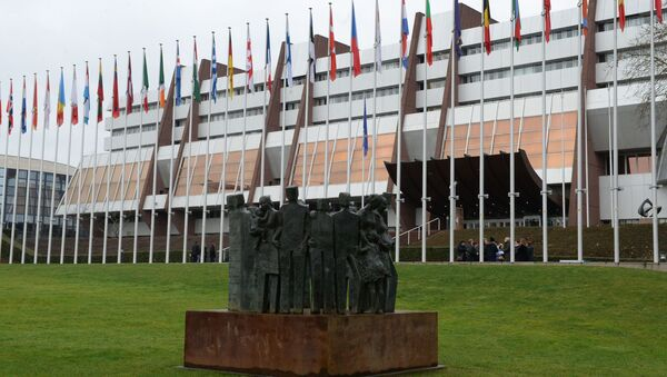 Palác Evropy ve Štrasburku, kde se konají zasedání PACE - Sputnik Česká republika