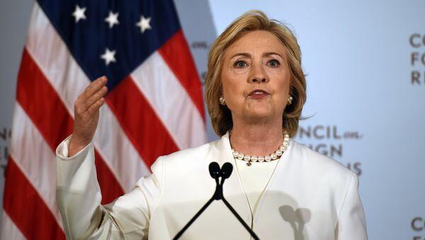 Bývalá ministryně zahraničí a kandidátka na prezidenta USA Hillary Clintonová - Sputnik Česká republika