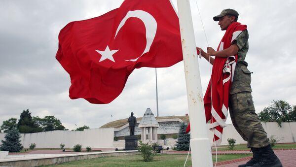 Turecký voják - Sputnik Česká republika