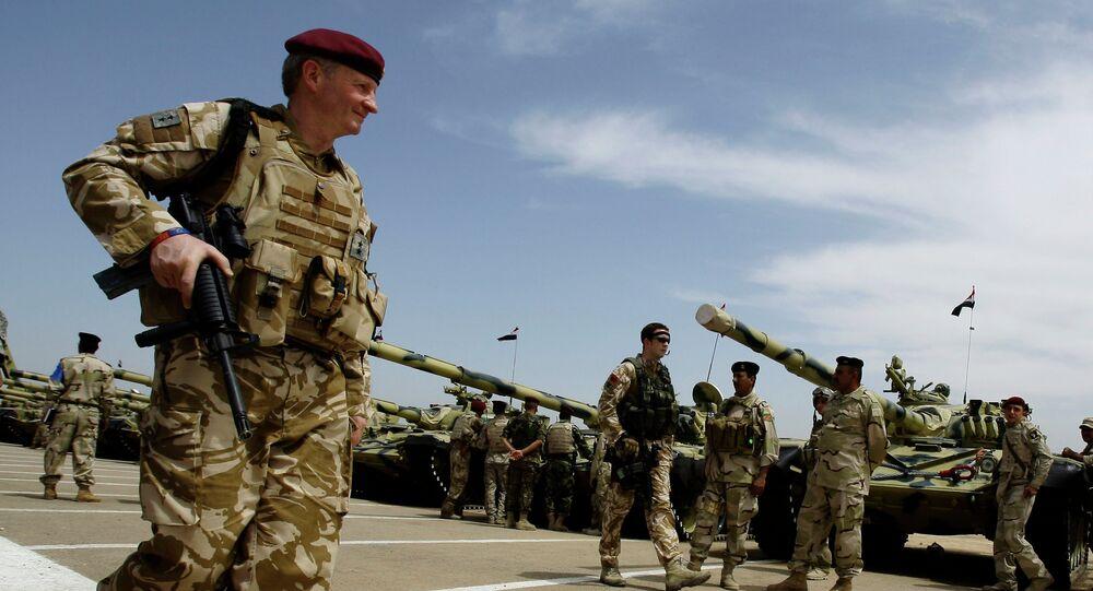 Britští vojáci v Iráku