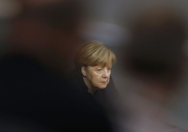 Kancléřka SRN Angela Merkelová