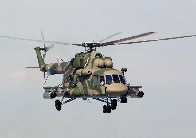 Vrtulník Mi-8AMTSh-V