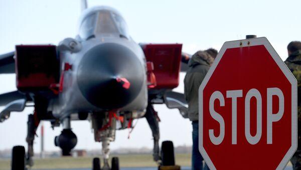 Německý průzkumný letoun Tornado - Sputnik Česká republika