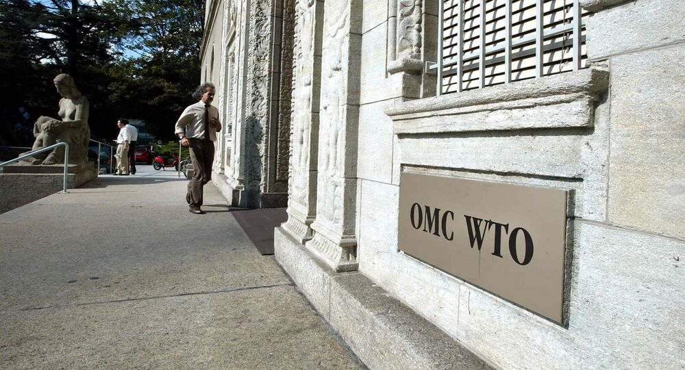 World Trade Organization (WTO) headquarter in Geneva (Switzerland)