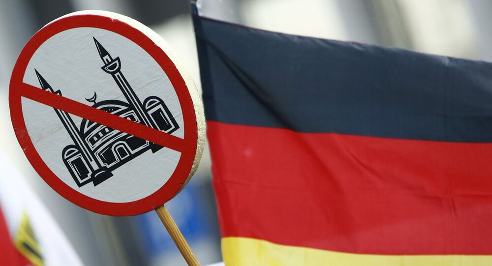 Akce Pegidy v Kolíně nad Rýnem