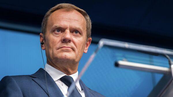 Hlava Evropské rady Donald Tusk - Sputnik Česká republika