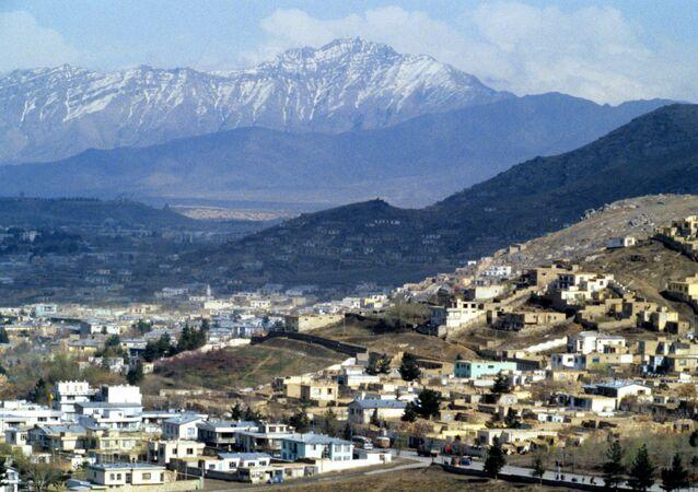 Pohled na Kábul