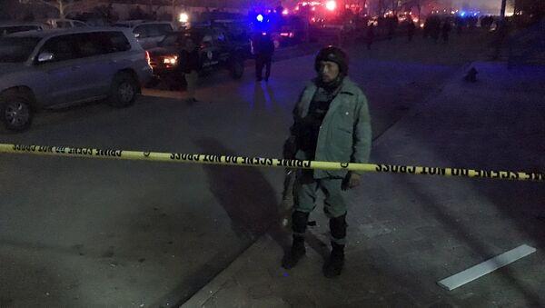 Afghánský policista - Sputnik Česká republika