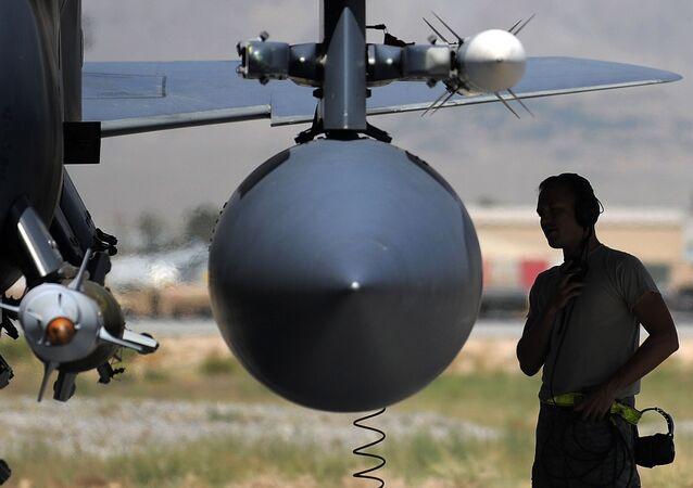 F-15E vojenského letectva USA v Afghánistánu