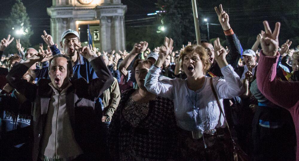 Protestní akce v Kišiněvu