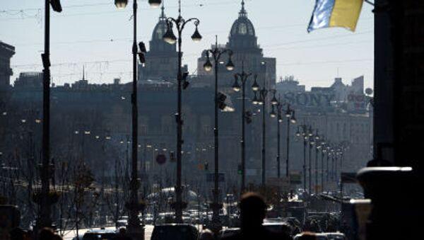 Ulice Kreščatik v Kyjevě - Sputnik Česká republika