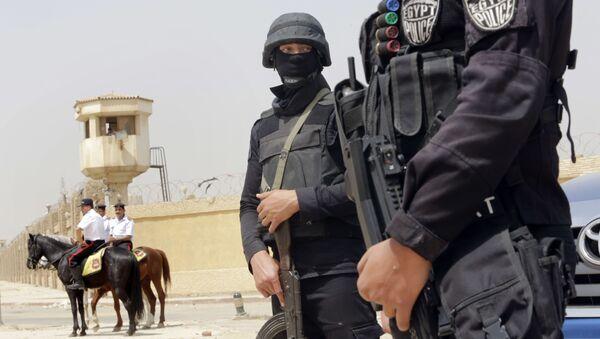 Egypčtí policisté - Sputnik Česká republika