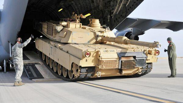 Americký tank Abrams - Sputnik Česká republika