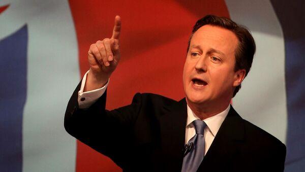 Premiér Velké Británie David Cameron - Sputnik Česká republika