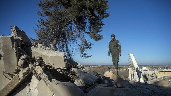Vesnice na severo-východě Sýrii, které byly osvobozeny od teroristů Daiš - Sputnik Česká republika