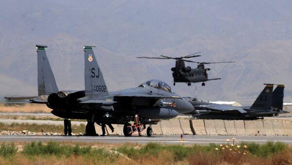 Americké stíhačky F-15E - Sputnik Česká republika