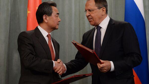 Setkání ministrů zahraničí Ruska a Číny - Sputnik Česká republika
