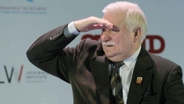 Lech Wałęsa - Sputnik Česká republika