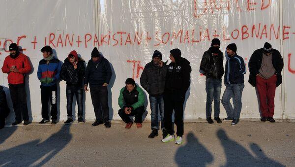 Migranti v Evropě - Sputnik Česká republika