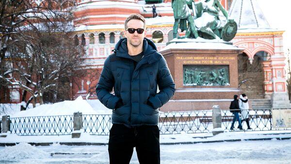 Ryan Reynolds v Moskvě - Sputnik Česká republika