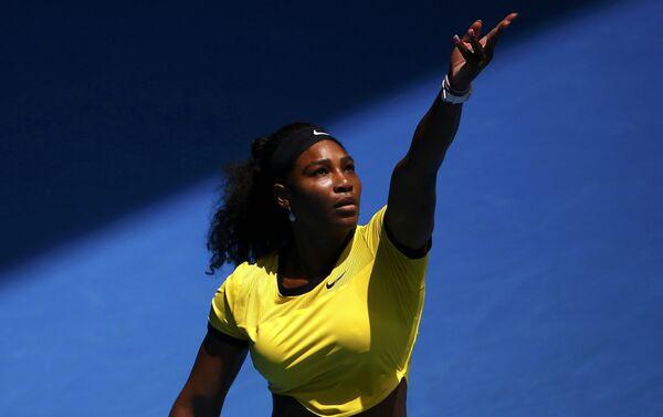Americká tenistka Serena Williamsová - Sputnik Česká republika