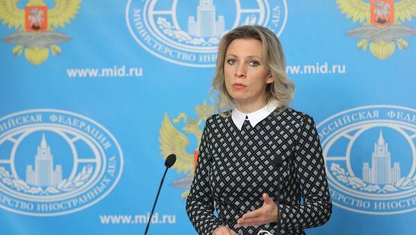 Tisková mluvčí MZV Ruska Maria Zacharovová - Sputnik Česká republika