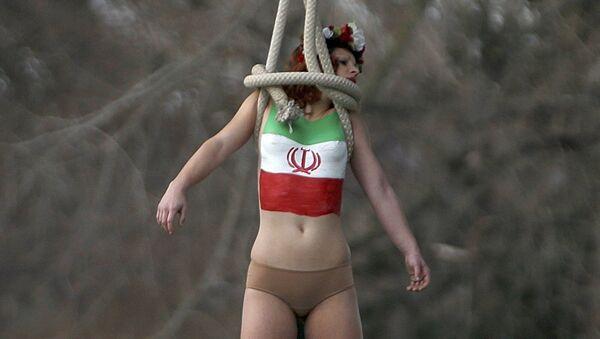 Akce Femen - Sputnik Česká republika
