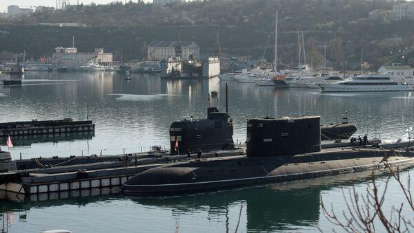Bývalá ukrajinská ponorka Zaporožje - Sputnik Česká republika