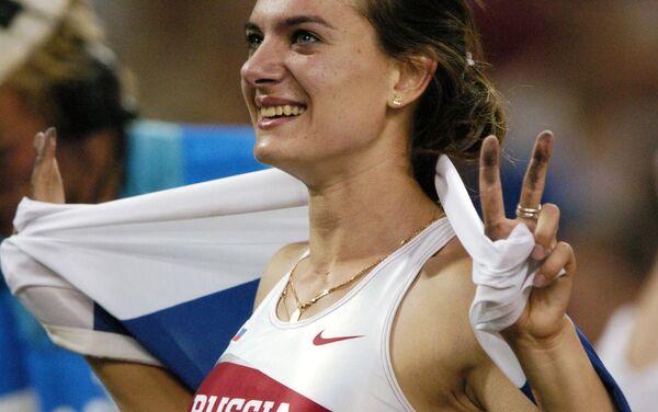 Jelena Isinbajevová (skoky o tyči) - Sputnik Česká republika