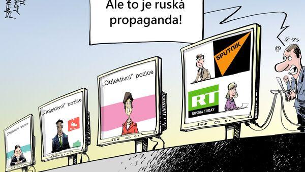 Boj proti propagandě - Sputnik Česká republika