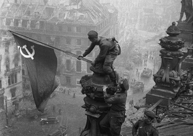 Prapor vítězství nad Říšským sněmem