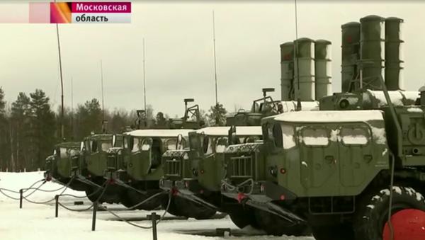 Raketový systém S-400 Triumf - Sputnik Česká republika
