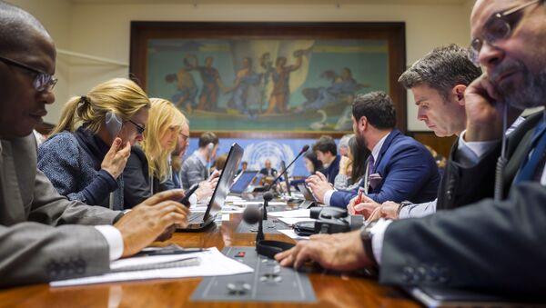 V Ženevě probíhá jednání o Sýrii - Sputnik Česká republika