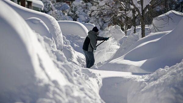 Sníh v New Jersey - Sputnik Česká republika