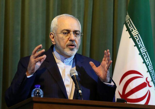 Íránský ministr zahraničních věcí Mohammad Džavád Zaríf