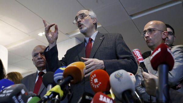 Bašár Džafarí - Sputnik Česká republika