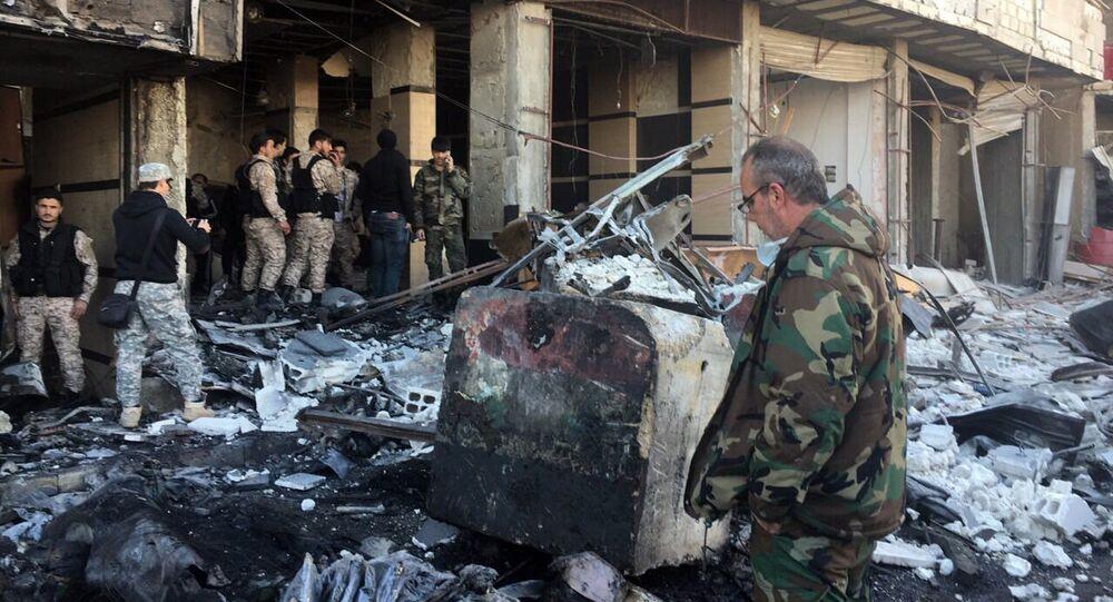 Teroristický útok v Damašku