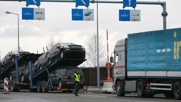 Rusko-polská hranice - Sputnik Česká republika