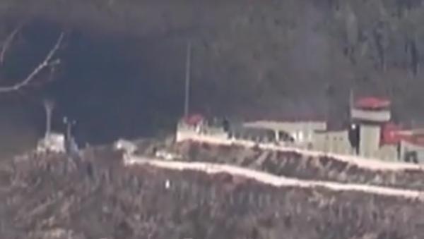 Ostřelování syrských obcí z území Turecka - Sputnik Česká republika