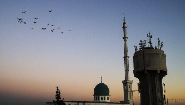 Mešita v Damašku - Sputnik Česká republika