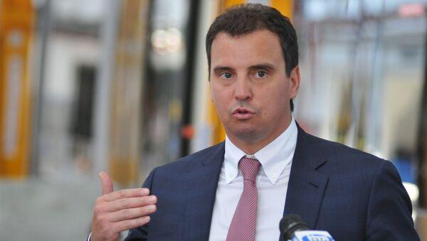 Ministr ekonomického rozvoje a obchodu Ukrajiny Ajvaras Abromavičus - Sputnik Česká republika