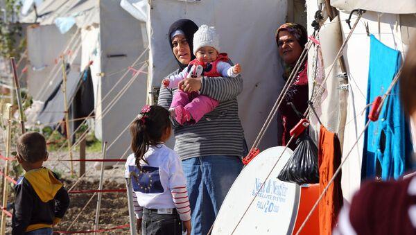 Syrští uprchlíci v Turecku - Sputnik Česká republika