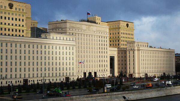 Budova MO RF v Moskvě - Sputnik Česká republika